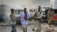 Hơn 100 nạn nhân thương vong trong vụ đánh bom ở Somalia