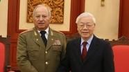 Tổng Bí thư, Chủ tịch nước Nguyễn Phú Trọng tiếp Bộ trưởng Bộ các LLVT Cách mạng Cuba