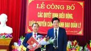 Huyện Con Cuông điều động, luân chuyển, bổ nhiệm 5 cán bộ