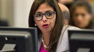 Phó Tổng thống Venezuela: Lệnh từ Hoa Kỳ cản trở cuộc đối thoại với phe đối lập