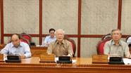 Tổng Bí thư Nguyễn Phú Trọng họp Bộ Chính trị phê duyệt quy hoạch BCH Trung ương khóa XIII
