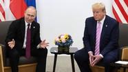 Hai Tổng thống Putin và Trump nói với nhau những gì tại cuộc gặp bên lề G20?