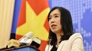 Người phát ngôn Bộ Ngoại giao: Tàu Hải Dương 8 của Trung Quốc đã rút khỏi thềm lục địa Việt Nam