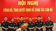 Quân ủy Trung ương công bố quyết định của Chủ tịch nước, Thủ tướng Chính phủ về công tác cán bộ
