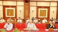 Tổng Bí thư Nguyễn Phú Trọng chủ trì cuộc làm việc của Bộ Chính trị với BTV Thành ủy Hà Nội