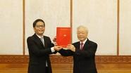 Tổng Bí thư, Chủ tịch nước Nguyễn Phú Trọng trao Quyết định phân công Ủy viên Bộ Chính trị