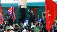 Đoàn tàu bọc thép chở ông Kim Jong Un rời Việt Nam đã về đến đâu?