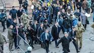 Tổng thống Ukraine phải chạy trốn khỏi một cuộc biểu tình