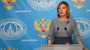 """Phát ngôn viên Ngoại giao Nga: """"Tôi đã không còn cảm nhận tình anh em với dân tộc Ukraine"""""""