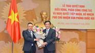 Điều động, bổ nhiệm đồng chí Trần Sỹ Thanh làm Phó Chủ nhiệm Văn phòng Quốc hội