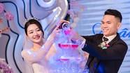 Ngắm không chán mắt những hình ảnh đẹp trong lễ cưới tuyển thủ Phạm Xuân Mạnh