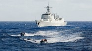 Mỹ cùng Trung Quốc tập trận hải quân quy mô lớn nhất thế giới?