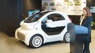 Ôtô điện đầu tiên sản xuất hoàn toàn bằng công nghệ in 3D