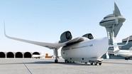 Máy bay cánh rời có thể biến hình thành tàu hỏa