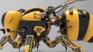Ong máy sẽ thay thế ong tự nhiên để ... thụ phấn cho cây