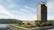 Na Uy xây tháp gỗ cao nhất thế giới