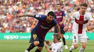 Messi giúp Barca thắng với tỷ số 8-2 ở La Liga
