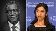 Nobel Hòa bình vinh danh người nỗ lực chống bạo lực tình dục