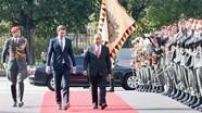 Áo tổ chức nghi lễ ngoại giao đặc biệt đón Thủ tướng Nguyễn Xuân Phúc