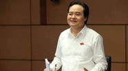 Bộ trưởng Bộ Giáo dục & Đào tạo: Cần sự chung tay khắc phục những vấn đề tồn tại