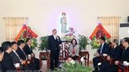 Trưởng ban Dân vận Trung ương chúc mừng Giáng sinh