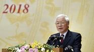 Tổng Bí thư, Chủ tịch nước Nguyễn Phú Trọng: Phấn đấu năm 2019 đạt kết quả cao hơn năm 2018