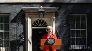 Thủ tướng Anh tuyên bố từ chức trong nước mắt vì không thể hoàn tất tiến trình Brexit
