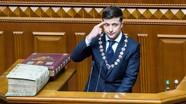Tân tổng thống Ukraine Zelensky gọi Nga là 'kẻ xâm lăng' và từ chối đàm phán