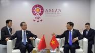Phó Thủ tướng Phạm Bình Minh gặp song phương Ngoại trưởng Trung Quốc