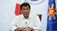 Tổng thống Philippines cắt ngắn chuyến thăm tới Trung Quốc