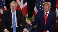 Tổng thống Mỹ Donald Trump lôi kéo Anh khỏi EU
