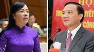 Quốc hội tiến hành miễn nhiệm Bộ trưởng Bộ Y tế và Chủ nhiệm Ủy ban Pháp luật