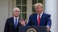 Nhà Trắng tăng cường bảo vệ Tổng thống và Phó Tổng thống trước Covid-19