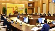 Kỳ họp thứ 9 của Quốc hội dự kiến sẽ tiến hành họp trực tuyến