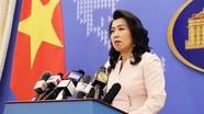 Việt Nam kêu gọi các bên có trách nhiệm duy trì hòa bình ở Biển Đông