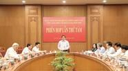 Tiểu ban Điều lệ Đảng Đại hội XIII họp phiên thứ tám