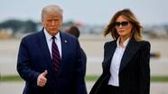 Tổng thống Mỹ Donald Trump và đệ nhất phu nhân Melania dương tính với Covid-19
