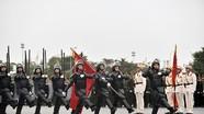Những hình ảnh ấn tượng tại lễ xuất quân diễn tập phương án bảo vệ Đại hội Đảng lần thứ XIII
