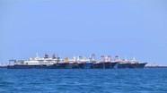 Philippines lo ngại khi hàng trăm tàu Trung Quốc tụ về một khu vực ở Biển Đông