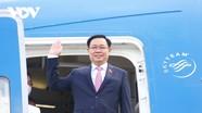 Chủ tịch Quốc hội Vương Đình Huệ lên đường dự Hội nghị các Chủ tịch Quốc hội thế giới tại Áo