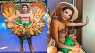 """Trang phục """"Bánh Mì"""" của H'Hen Niê được truyền thông quốc tế khen nhiều hơn chê"""