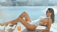 Siêu mẫu Hà Anh sexy táo bạo sau 7 tháng sinh con