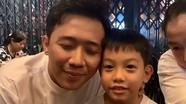 Clip vui của Trấn Thành và con trai Hà Hồ gây 'sốt'