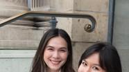 Nhan sắc 'hotgirl' của 2 con gái của diễn viên Diễm My