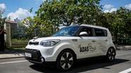 Xe tự lái đầu tiên đang thử nghiệm ở TP. Hồ Chí Minh