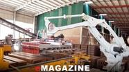 Công ty CP Trung Đô: Tiên phong ứng dụng công nghệ mới vào sản xuất vật liệu xây dựng
