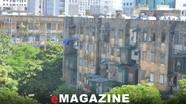 Các nhà Khu chung cư Quang Trung cũ đã ở mức nguy hiểm cấp độ C!
