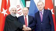 Thượng đỉnh Iran, Nga, Thổ Nhĩ Kỳ về Syria; Ông Duterte bị kiện ra tòa hình sự quốc tế