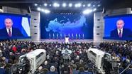 Tổng thống Nga đọc Thông điệp liên bang; Syria nỗ lực sơ tán người dân khỏi khu vực của IS