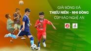 Lịch thi đấu ngày 12/6 Giải bóng đá TN-NĐ Cúp Báo Nghệ An 2019